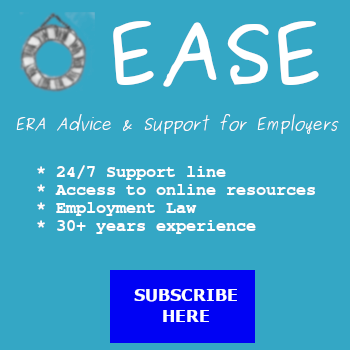 Banner listing EASE services