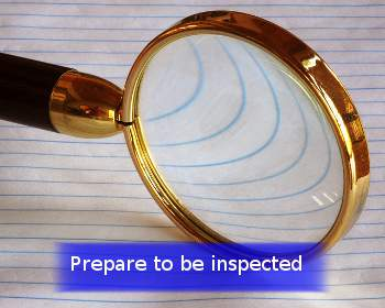 magnifying glass inspection